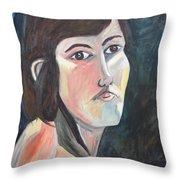 Clear-cut Crystal Throw Pillow