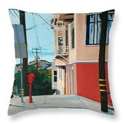 Clear Day Throw Pillow