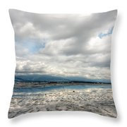 Clear Days Throw Pillow