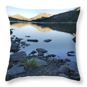 Clear Lake Throw Pillow