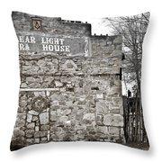 Clear Light Opera House Throw Pillow