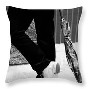 Clear The Hassles  Throw Pillow