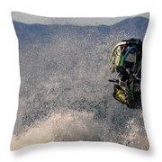 Cleared For Take Off Throw Pillow