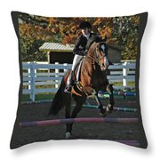 Clearing The Rail Throw Pillow