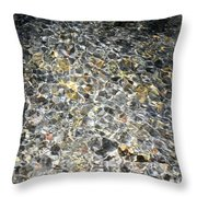 Clearwater Falls Series 4 Throw Pillow