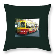 Clearwater Jolly Throw Pillow