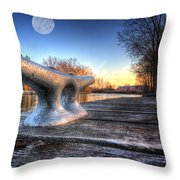 Cleat Throw Pillow