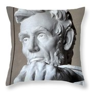 Clenched Fist Throw Pillow
