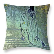 Cleopatra's Ghost Throw Pillow