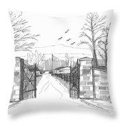 Clermont Farm Gate Throw Pillow