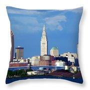 Cleveland Beauty Throw Pillow