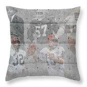 Cleveland Browns Legends Throw Pillow