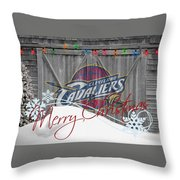 Cleveland Cavaliers Throw Pillow