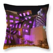 Cleveland Clinic Las Vegas #2 Throw Pillow by Daniel Furon