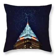 Cleveland Electrified Throw Pillow
