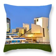 Cleveland Icons Throw Pillow