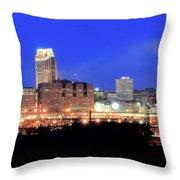 Cleveland Panoramic      Throw Pillow