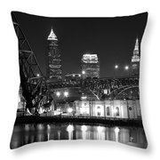 Cleveland Shining Bright Throw Pillow