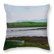 Clew Bay County Mayo Ireland Throw Pillow