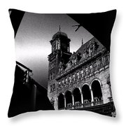 Clickety Clack Throw Pillow
