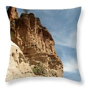 Cliff Dwellings Throw Pillow