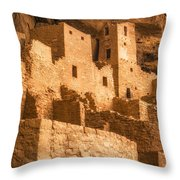 Cliff Palace Townhomes Throw Pillow