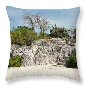 Cliff Stairs 1 Throw Pillow