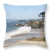 Santa Cruz Cliffline  Throw Pillow