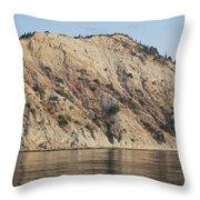 Cliffs Erikousa Throw Pillow