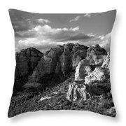 Cliffs Of Sedona Throw Pillow
