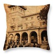 Clifton Mansion Throw Pillow