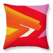 Climax Throw Pillow by Izabella Godlewska de Aranda