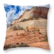 Climb To The Sky Throw Pillow