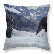 T-803501-b-climbers In The Death Trap Throw Pillow