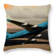 Climbing Power Throw Pillow by Marcello Cicchini