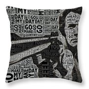 Clint Eastwood Dirty Harry Throw Pillow