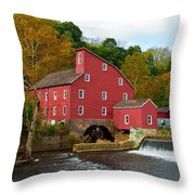 Clinton Mill II  Throw Pillow