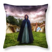Cloak Throw Pillow
