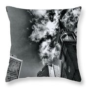 Old South Meeting House Throw Pillow