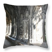 Cloister Arches  Arles Throw Pillow