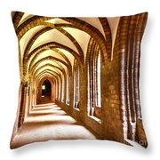 Cloister Arches Throw Pillow
