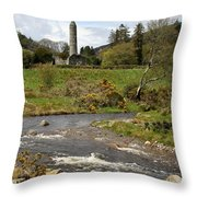 Cloister Glendalough Throw Pillow