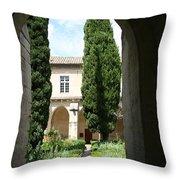 Cloistergarden Chartreuse Throw Pillow