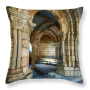 Cloisters Arch Throw Pillow
