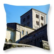 Cloisters II Throw Pillow