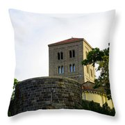 Cloisters Iv Throw Pillow