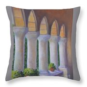 Cloisters New York Throw Pillow