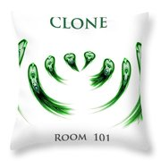 Clone Room 101 Throw Pillow
