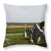Clonmacnoise - Ireland Throw Pillow