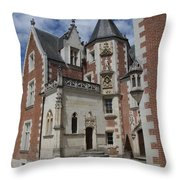 Clos Luce - Amboise - France Throw Pillow